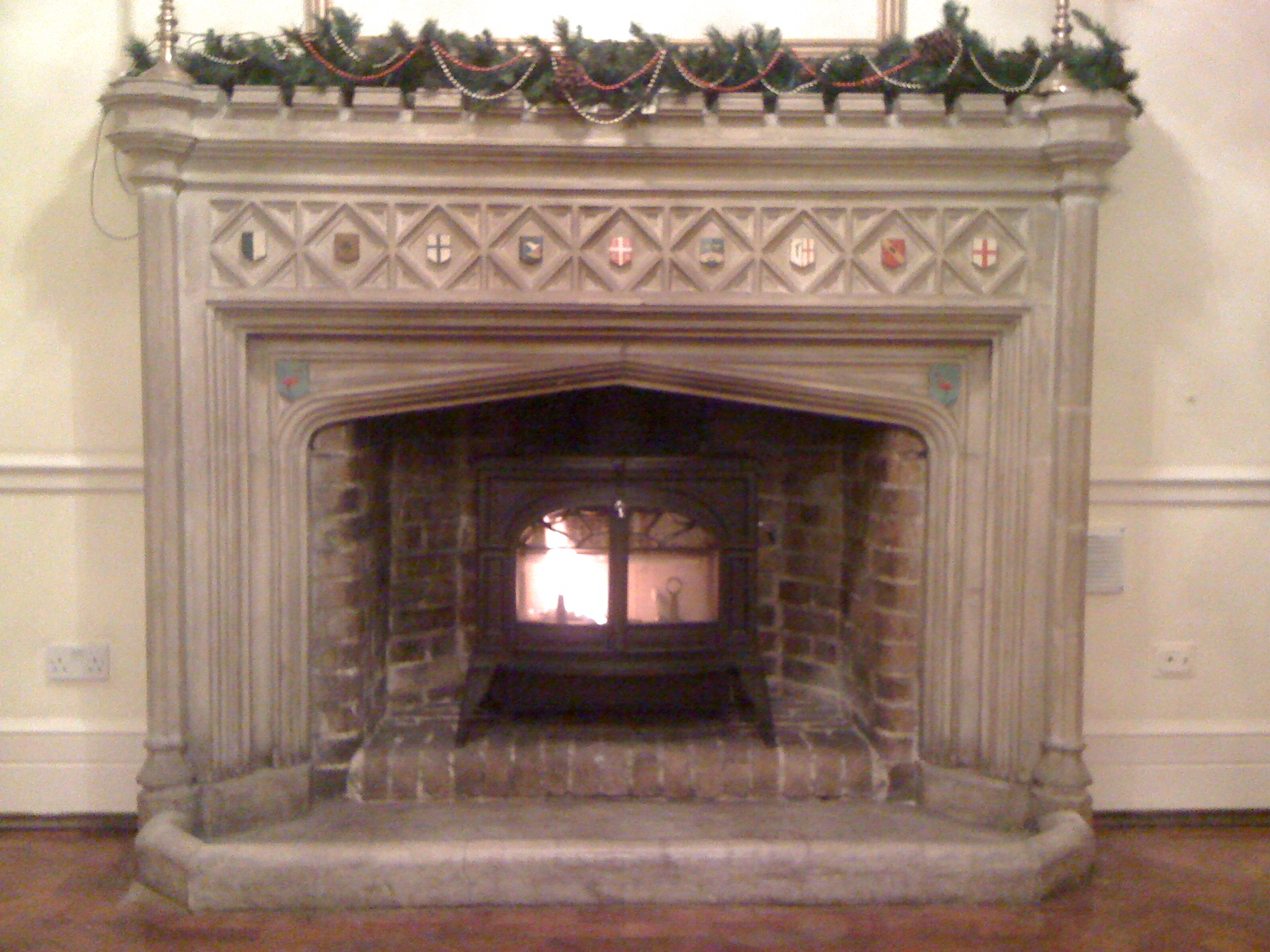 fireplace finishes